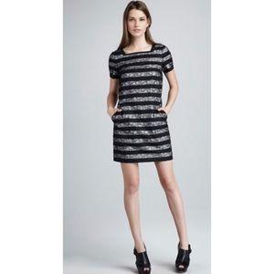 Marc Jacobs Lucienne Lace-Stripe Dress